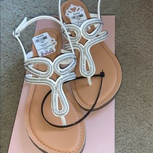 Buy2get1free White sandals